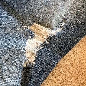 Hollister Jeans - Distressed Hollister Boyfriend Jeans